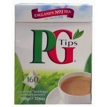 PG Tips 160 Tea Bags (17.6 oz) - http://teacoffeestore.com/pg-tips-160-tea-bags-17-6-oz/