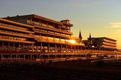 Churchill Downs famed Twin Spires at dawn Photo:Dan Dry/Power Creative