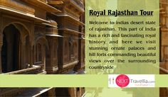 India is a lovely country steeped in history. Experience life as an Indian royals with our Heritage #Rajasthan Tour. #rajasthantour #heritage #rajasthanheritage #rajasthan #indiatour #inboundtour #indiaholiday #familyholidays #holidays #vacations #tour #travel