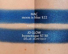 MAC Moon is Blue = JD Glow Hypnotique