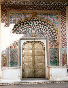 Lotus Doorway: Pritam Niwas Chowk - Jaipur City Palace   Flickr - Photo Sharing!