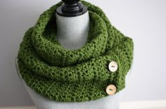 Items similar to SALE Crochet snood, Crochet cowl, Green scarf, Knit snood, knit… - knitted scarf Crochet Snood, Crochet Scarves, Hand Crochet, Scarf Knit, Aluminum Wire Jewelry, Crochet Christmas Gifts, Unisex Gifts, Tube Scarf, Green Gifts