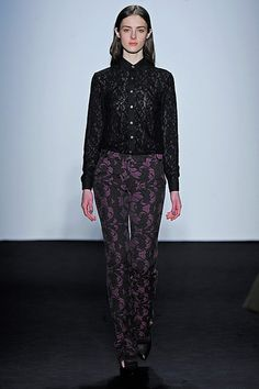 Allaire Heisig for Timo Weiland F/W 2013  #NYFW (21) Tumblr