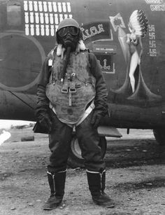 I'm standing like this because I have to poop and the gas mask is because someone farted.