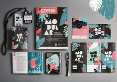 Festival Branding by Rosa Kammermier Event Branding, Stationary Branding, Corporate Design, Brand Identity Design, Conference Branding, Vitrine Design, Web Design, Graphic Design, Letterhead Design