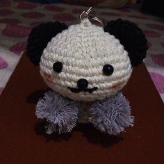 #panda #cute #babypanda #amigurumi #amigurumidoll #imaginenationid #handmade #onlineshop #indonesia #crochet #crochetaddict #crochetersofinstagram #pompom #custom #pattern #myself by imaginenationid