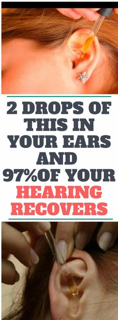 2 DROPS OF THIS IN YOUR EARS AND 97% OF YOUR HEARING RECOVERS! EVEN OLD PEOPLE FROM 80 TO 90 ARE DRIVEN CRAZY BY THIS SIMPLE AND NATURAL REMEDY!