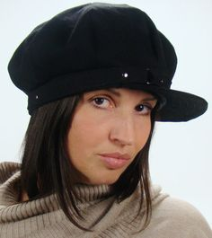 OVERSIZED NEWSBOY 8Panel Handmade Cap Driving Cap for by Sookie, $84.00