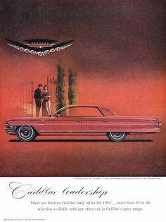 Cadillac Sedan de Ville, 1962.