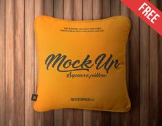 """Check out this @Behance project: """"Square Pillow – 2 Free PSD Mockups"""" https://www.behance.net/gallery/52498783/Square-Pillow-2-Free-PSD-Mockups"""