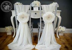High Quality Chiffon Pin New Arrival Floral Chair Covers Vintage Chair Sashes 2018 Wedding Supplies Wedding Chair Sashes, Wedding Sash, Wedding Chairs, Rose Wedding, Wedding Table, Diy Wedding, Wedding Ideas, Wedding Flowers, Wedding Parties