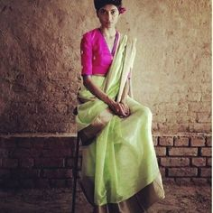 Mint green banarasi saree with antique gotta patti and rani pink blouse piece To purchase mail us at houseof2@live.com or whatsapp us on +919833411702 for further details #sari #saree #satin #traditional #traditionalwear #india #indian #indianwear #like #like4like #ever #ethnic #mintgreen #pink #banarasi #houseof2