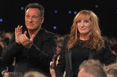 Bruce Springsteen and Patti Scialfa - The 55th Annual GRAMMY Awards - MusiCares Person Of The Year Honoring Bruce Springsteen - Backstage an...