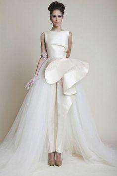 Bridal Jumpsuits and wedding dress