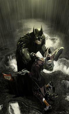 Punchline Digital Art Batman Cartoons & Comics Fan Art Games Joker Movies & TV Paintings & Airbrushing Superhero Villain