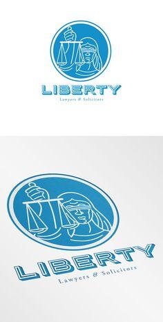 Liberty Lawyers Logo by patrimonio on Creative Market