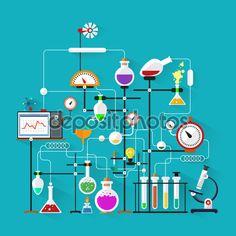laboratory illustration - Google-søgning