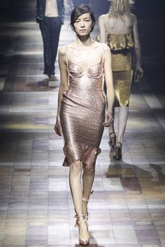 Lanvin, spring/summer 2014 - I like this kind of shine.