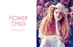 Exclusive: Lily Nova by Sam Bisso in 'Flower Child'