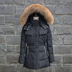 Real Fur Winter Jacket Women's