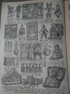 Original Catalog of **AU BON MARCHÉ** 1912 very rare !!!
