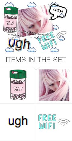 """""""Who needs a chill pills 💊"""" by dream-free-123 ❤ liked on Polyvore featuring art"""