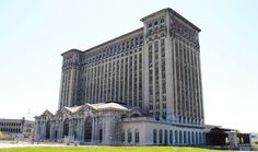 Michigan Central Station in Detroit | The 33 Most Beautiful Abandoned Places In The World