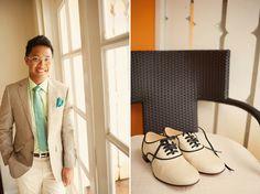 Stylish groom: #wedding #tie #ideas Destination Weddings, Real Weddings, Mens Wedding Ties, Real Couples, Groom Style, Suits You, Groomsmen, Bliss, Film