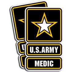 U.S. Army  Medic   2 Pack  There perfect for by FamousCaricatures, $4.49