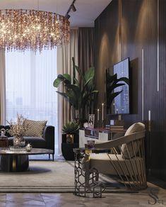 Incredible Interior Design Inspiring for you Luxury Home Decor, Luxury Interior, Modern Interior Design, Room Interior, Luxury Homes, My Living Room, Living Room Decor, Luxurious Bedrooms, Luxury Living