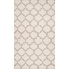 Inspired by Moroccan tiles, the Surya Frontier rug delivers global intrigue with a bold and curvaceous design. An iconic geometric pattern excites on this sophisticated floor cover, lending captivating dimension to a modern space. Hand-woven wool texture provides for plush and inviting warmth underfoot.</p><ul><li>Available in Ivory & Gray, Mediterranean Blue, and Taupe</li><li>100% hand woven wool</li><li>Flat pile </li>...