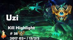 Challenger Kill Highlight #38 Uzi