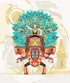 Reog Ponorogo by Revoltan Studios Mask Drawing, Indonesian Art, Dream Tattoos, Amai, Design Reference, Digital Illustration, Character Design, Digital Art, Fan Art