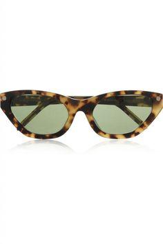 or Alexander Wang ? http://www.steelemystyle.com/2012/07/03/tortoiseshell-icious-sunglasses-saga/