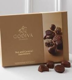 I'm learning all about Godiva Nut And Caramel Assortment at @Influenster!