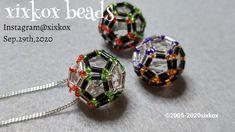 Pendant Jewelry, Beaded Jewelry, Beaded Necklace, Jewellery, Bugle Beads, Seed Beads, Bead Loom Bracelets, Beading Tutorials, Loom Beading