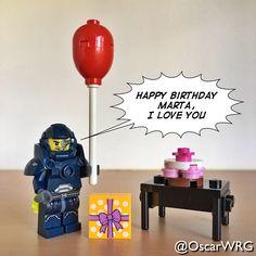 #LEGO_Galaxy_Patrol #LEGO #HappyBirthday #Balloon #Present #Gift #Cake #🎈 #💝 #🎁 #🎂