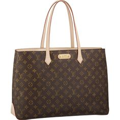 "Louis Vuitton Wilshire GM Monogram Canvas M45645 18.1"" x 12.4"" x 5.5"""