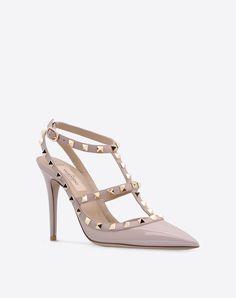 Valentino Online Boutique - Valentino Women Rockstud Ankle Strap