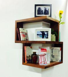 Franklin Wrap Around Shelf- Hand Crafted