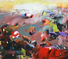 130/150 cm, mixed media on canvas