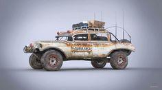 ArtStation - Rat Ambulance, by Nick Foreman Cadillac Eldorado, Mad Max, Rat Fink, Apocalypse, Death Race, Trophy Truck, All Cars, Old Trucks, Custom Cars