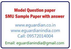 SMU Model paper
