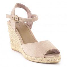a56f6f65 Las 39 mejores imágenes de sandalias cuña | Wedges, Beautiful shoes ...