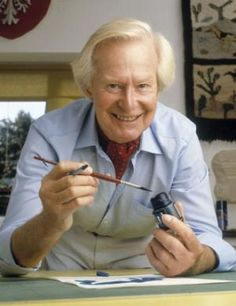 Tony Hart. This guy was such an inspiration to me. Wat hebben we geknutseld als hij op tv was geweest! Geweldig! Nu zitten ze alleen maar achter een pc spel. Zouden ze weten dat er zo veel meer is in het leven?