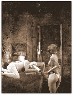 die alte hatte ihre hexenkolleginnen eingeladen um h nsel zu schlachten und den fetten. Black Bedroom Furniture Sets. Home Design Ideas