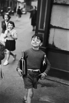 Henri Cartier-Bresson - Rue Mouffetard, Paris, 1954 | 1stdibs.com