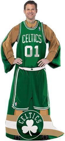 Boston Celtics Comfy Throw - Player Design #BostonCeltics