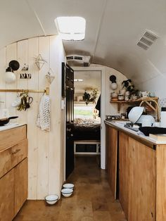 A 31′ foot, 1971 Airstream Sovereign that has been completely renovated and restored.