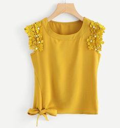 Discover thousands of images about Casual Plain Regular Fit Round Neck Ginger Regular Length Knot Side Pearl Beaded Detail Top Diy Fashion, Fashion Dresses, Womens Fashion, Fashion Ideas, Fashion Shoes, Fashion 2018, Winter Fashion, Vintage Fashion, Summer Outfits